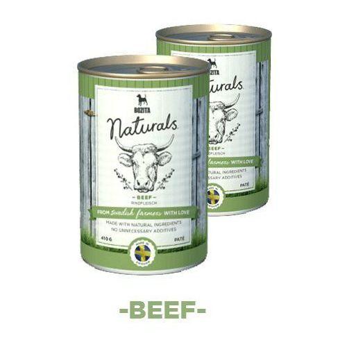 Bozita naturals z wołowiną - karma dla psów, 410 g