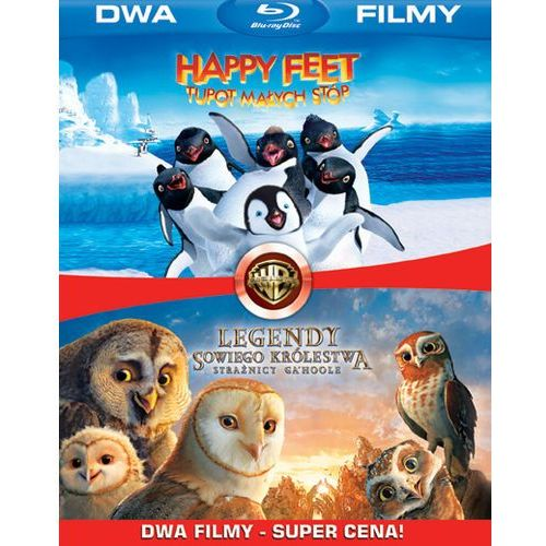 BD 2 PACK LEGENDY SOWIEGO KRÓLESTWA/HAPPY FEET (2BD) GALAPAGOS Films 7321999316044 (film)