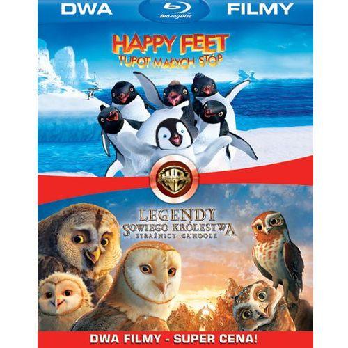 Galapagos films Bd 2 pack legendy sowiego królestwa/happy feet (2bd)  7321999316044