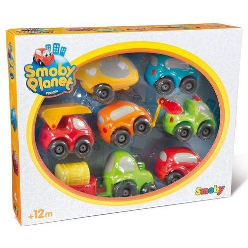 vroom planet zestaw pojazdów do garażu marki Smoby