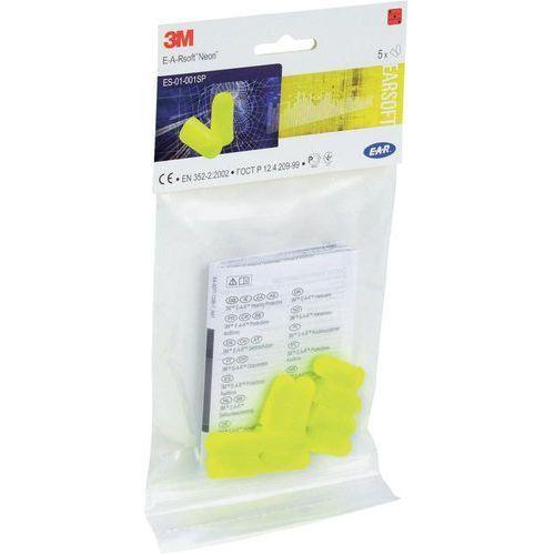 Stopery do uszu E-A-Rsoft w kolorze żółtym 3M XA007703714 36 dB 5 par(a) (4046719477470)