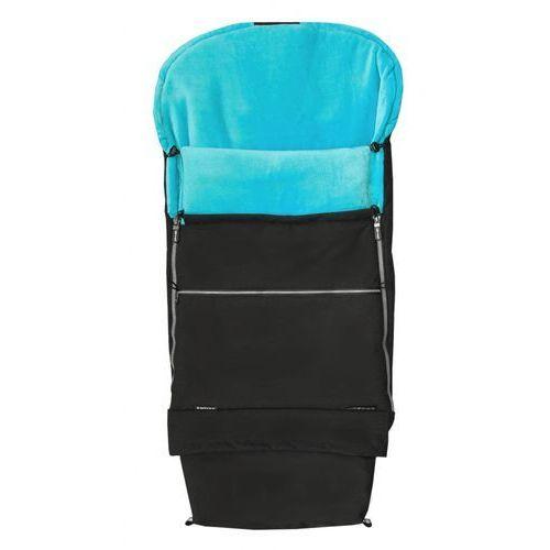 Emitex śpiworek dziecięcy combi premium, czarno-niebieski