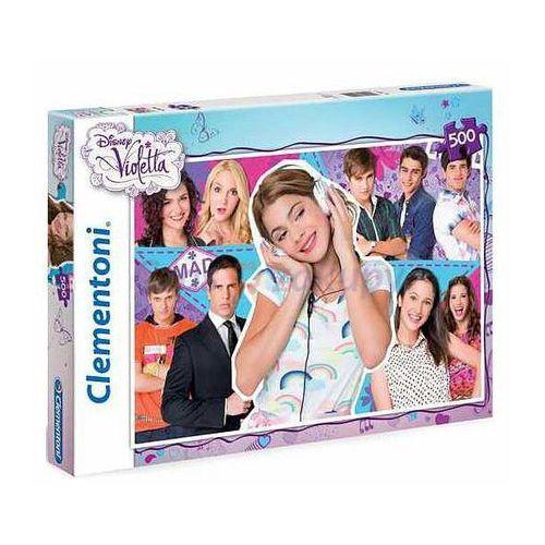Clementoni Puzzle - Violetta 500 el.
