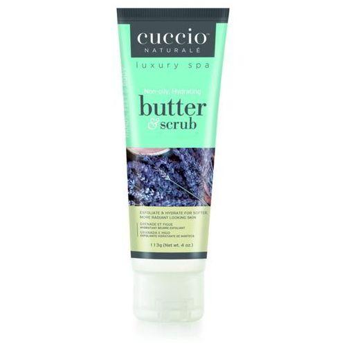Cuccio butter & scrub lavender & chamomile | scrub do ciała lawenda i rumianek - 113g