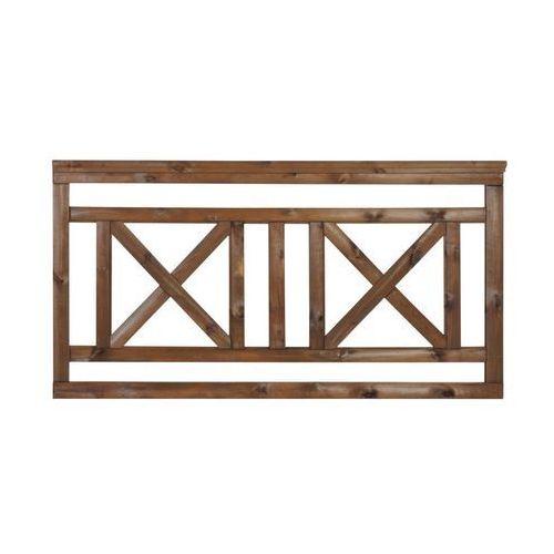 Płot tarasowy 180x90 cm drewniany NIVE NATERIAL (5901171229519)