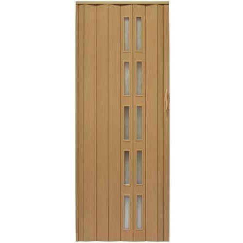 Gockowiak Drzwi harmonijkowe 005s 32 olcha mat 90 cm