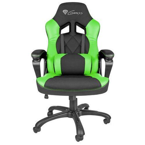 Natec Genesis fotel dla gracza nitro 330 czarno-zielony nfg-0906 - odbiór w 2000 punktach - salony, paczkomaty, stacje orlen (5901969407419) - OKAZJE