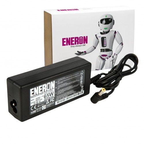 Zasilacz ładowarka ENERON do laptopa ACER eMachines 19V 3.42A 65W, AC65-5517_1