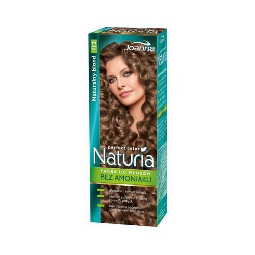 Joanna Naturia Perfect Color Farba do włosów bez amoniaku Naturalny Blond nr 112, 525312