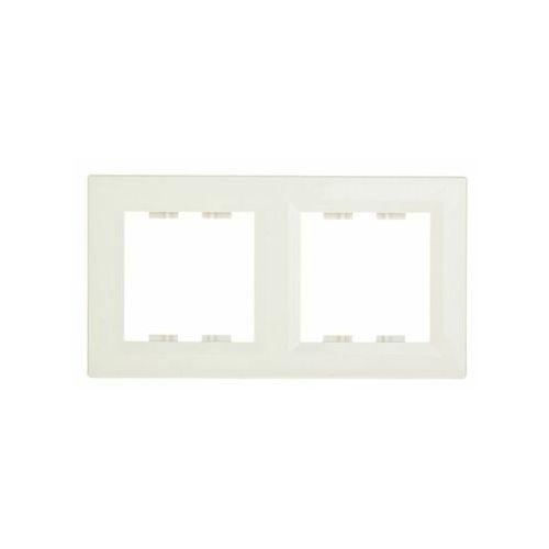 SCHNEIDER ASFORA Ramka 2-krotna pionowa brąz EPH5810269 (3606480527357)