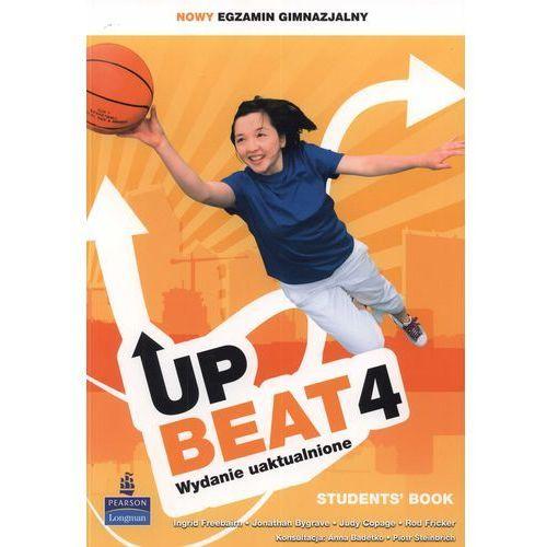 Upbeat 4. Klasa 1-3, gimnazjum. Język angielski. Podręcznik (+CD) (9788376004297)