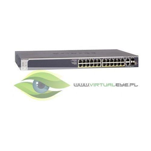 Netgear switch s3300 smart 24x1ge 2x10ge 2xsfp+ (24xpoe+) stack - gs728txp