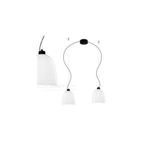 LAMPA wisząca AWA 2/S/OPAL Sotto Luce szklana OPRAWA zwieszana biała, AWA 2/S/OPAL