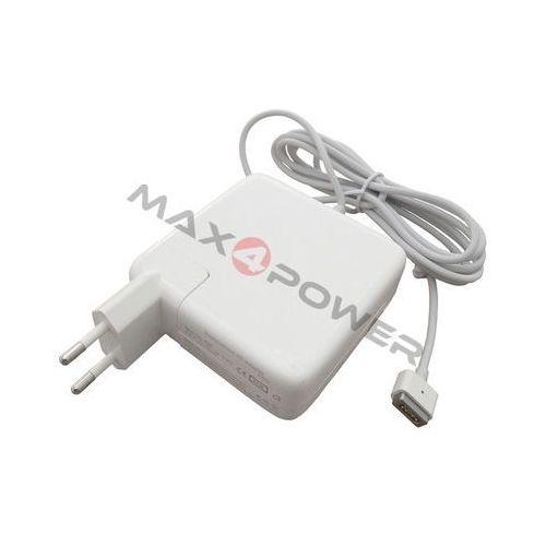 Max4power Zasilacz ładowarka do apple macbook 13.3 cali mb061a | 18.5v 4.6a 85w wtyk magsafe