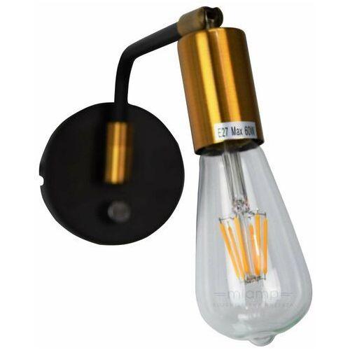 Italux kinkiet/lampa ścienna LED Ivette czarny MB-BR16164-W1-G/B