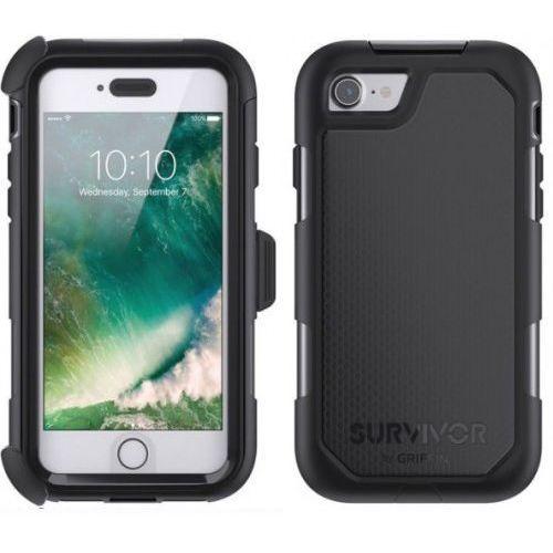 Etui Pancerne Griffin Summit iPhone 7 - czarny - sprawdź w wybranym sklepie
