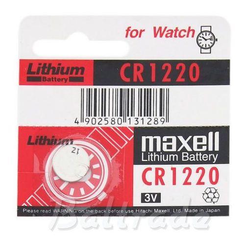 Bateria litowa  cr1220 marki Maxell
