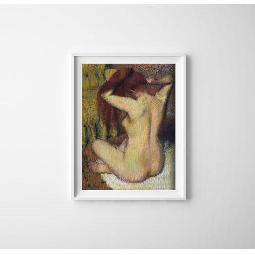 Vintageposteria.pl Plakat do pokoju plakat do pokoju degas kobieta czesająca włosy