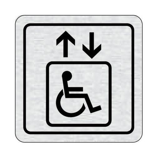 Tabliczka na drzwi -winda dla niepełnosprawnych marki B2b partner