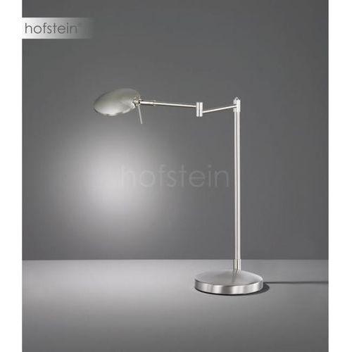 Trio KAZAN Lampa stołowa LED Nikiel matowy, 1-punktowy - Nowoczesny - Obszar wewnętrzny - KAZAN - Czas dostawy: od 3-6 dni roboczych (4017807390063)