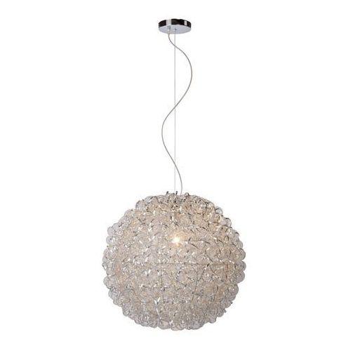 Lucide 08402/50/12 - lampa wisząca noon 1xe27/60w/230v chrom 49 cm
