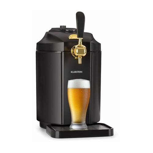 Klarstein Skal dystrybutor piwa dozownik schładzacz piwa 5l beczki CO2 stal nierdzewna czarny (4260509688406)
