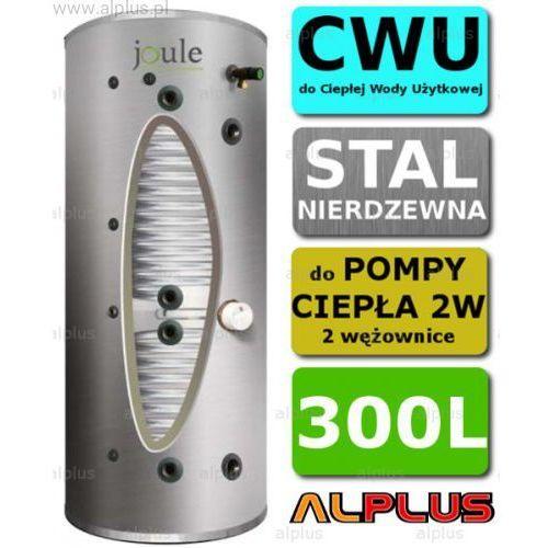 cyclone do pompy ciepła 300l 2w 2-wężownice nierdzewka wymiennik bojler podgrzewacz cwu wysyłka gratis! marki Joule