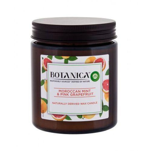 Air Wick Botanica Moroccan Mint & Pink Grapefruit świeczka zapachowa 205 g unisex (5999109541338)
