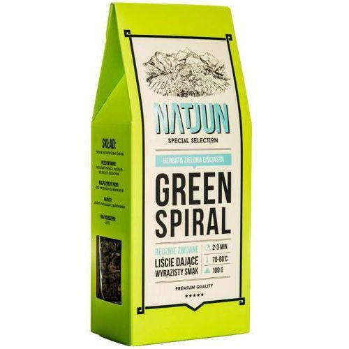 herbata zielona green spiral 100g marki Natjun