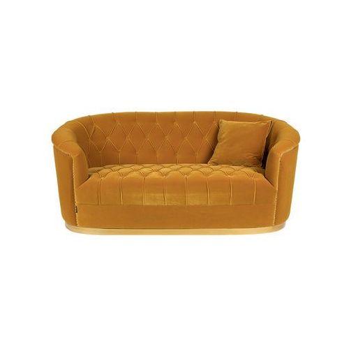 sofa too pretty to sit on musztardowa bm32003 marki Bold monkey