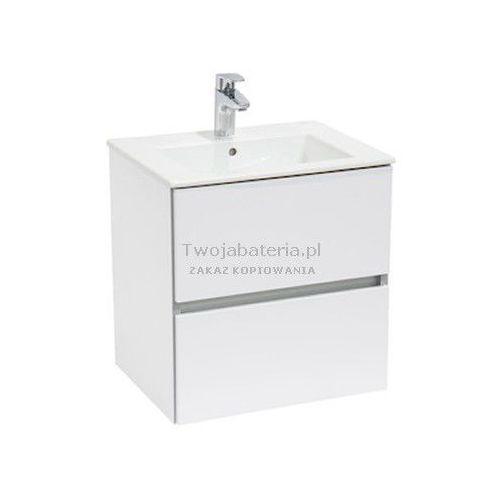 Roca Cube zestaw łazienkowy szafka umywalka 55x43 A85119A806