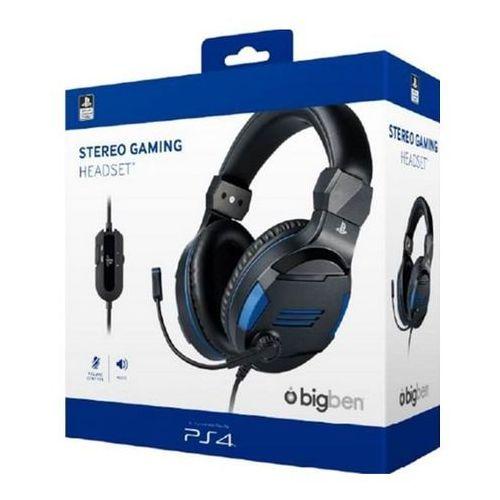 playstation 4 gaming headset sony licensed v3 stereo - zestaw słuchawkowy - sony playstation 4 marki Bigben interactive