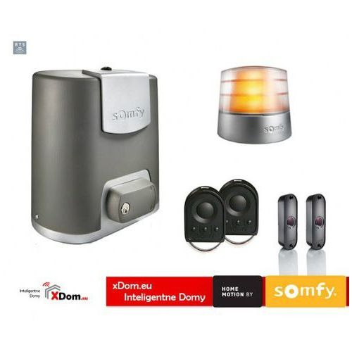 Elixo 500 230V Comfort+ Pack (2 piloty 4-kanałowe Keygo, lampa Master Pro, fotokomórki)