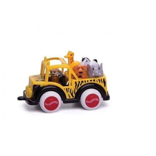 Jumbo Safari Ttruck z figurkami