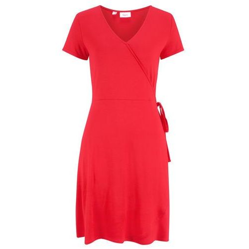 Sukienka aksamitna ciemnoniebieski marki Bonprix