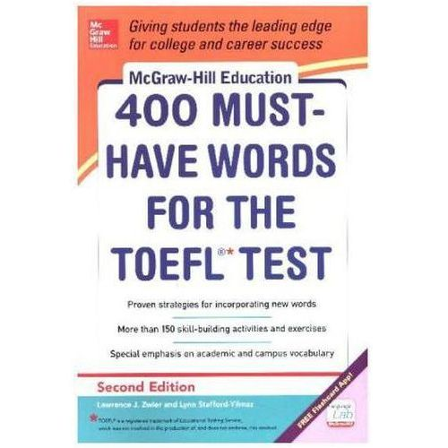 McGraw-Hill's 400 Must-have Words for the TOEFL, MCGRAW HILL PROFESSIONAL