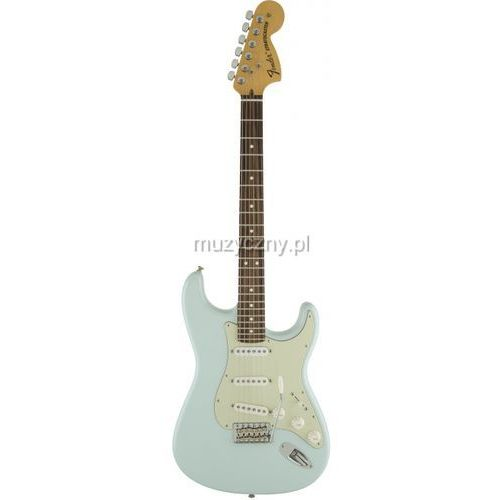 Fender American Special Stratocaster RW Sonic Blue, podstrunnica palisandrowa