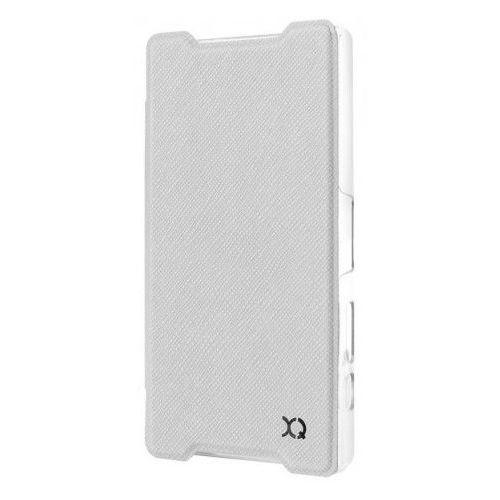 Etui XQISIT do Sony Xperia Z5 Compact Adour Biały + Zamów z DOSTAWĄ JUTRO! - sprawdź w wybranym sklepie