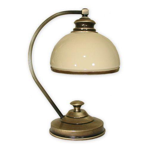 Olimp lampka stołowa 1 pł. / patyna, Dodaj produkt do koszyka i uzyskaj rabat -10% taniej!