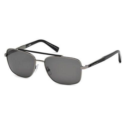 Okulary Słoneczne Ermenegildo Zegna EZ0036 Polarized 12D