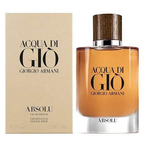 Giorgio Armani Acqua di Gio Absolu woda perfumowana 75 ml dla mężczyzn