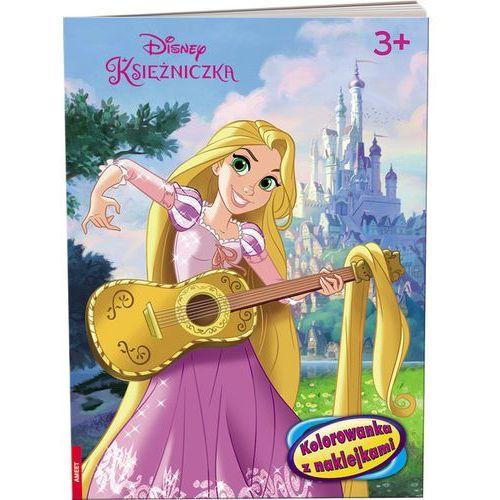 Disney księżniczka kolorowanka z naklejkami - praca zbiorowa marki Ameet