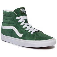 Sneakersy - sk8-hi vn0a4bv6v761 (pig suede) fairway/tr wht marki Vans