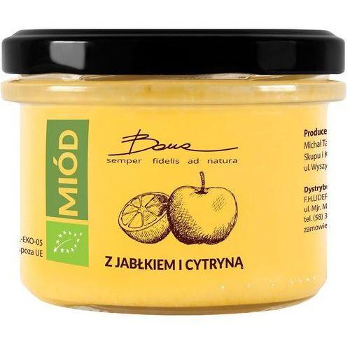 Bona Miód wielokwiatowy z jabłkiem i cytryną bio 250 g -