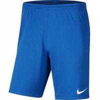 Nike Spodenki męskie sportowe park iii bv6855-463 - niebieski