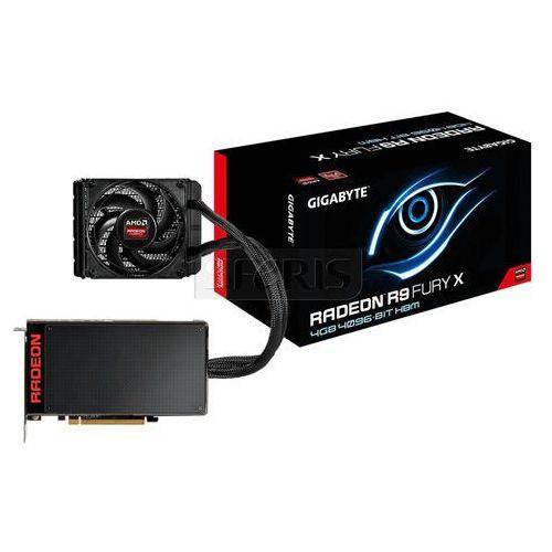 Karta graficzna GIGABYTE Radeon R9 FuryX 4096MB DDR5( HBM)/4096b PCI-E - GV-R9FURYX-4GD-B z kategorii Karty graficzne