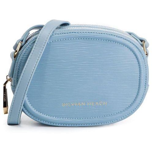 Torebka - shoulder bag graena saffiano rcp19053bo aqua w1642 marki Silvian heach