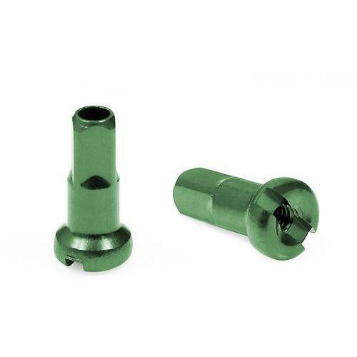Nypel CnSpoke AN12 12 mm aluminiowy zielony (5907558600865)