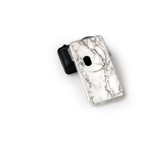 Fantastic case - asus zenfone zoom - etui na telefon fantastic case - biały marmur, marki Etuo.pl