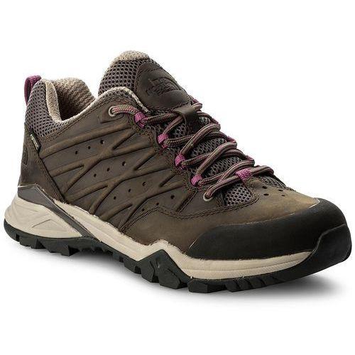 Trekkingi - hedgehog hike ii gtx gore-tex t939ib4ns bone brown/wild aster purple marki The north face